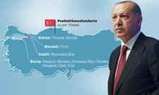 Autoindustrie: Fahrzeugproduktion in der Türkei
