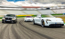 BMW M5 Competition/Tesla Model S Performance/Porsche Taycan Turbo S
