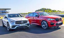 Mercedes-AMG GLC 63 S Coupé/BMW M4 Competition