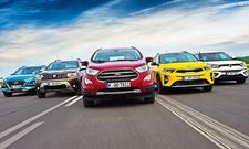 Duster/Ecosport/Kona/Stonic/Tivoli: Test
