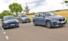 Ford Kuga 2.5 PHEV/Mitsubishi Outlander Plug-in-Hybrid/BMW X1 xDrive25e