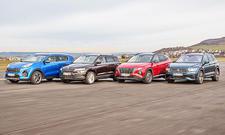 Kia Sportage/Skoda Karoq/Hyundai Tucson/VW Tiguan