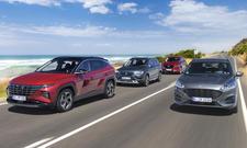 Hyundai Tucson/Seat Ateca/Mazda CX-5/Ford Kuga