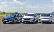 Mercedes EQA/Skoda Enyaq/VW ID.4