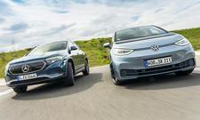 Mercedes EQA/VW ID.3