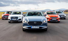 Mini Countryman/Audi Q2/Mazda CX-30/Kia XCeed/Honda HR-V