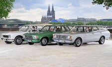 Peugeot 504/Opel Rekord/Ford Taunus: Classic Cars