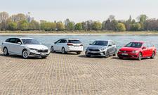 Skoda Octavia Combi/Opel Astra Sports Tourer/Kia Ceed Sportswagon/VW Golf Variant