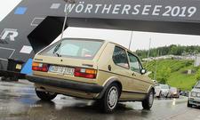 Im VW Golf 1 GTI zum GTI-Treffen