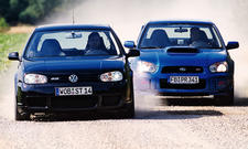 Subaru WRX STi/VW Golf R32