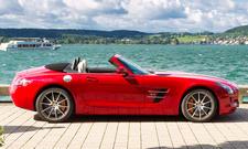 Mercedes SLS AMG Roadster - Seitenansicht