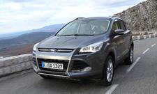 Ford Kuga 2.0 TDCi Fahrbericht 2013 SUV Neuheiten neue Generation Markteinführung