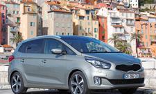 Kia Carens 1.7 CRDi Kompaktvan Fahrbericht Diesel