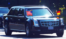 Barack Obama Berlin The Beast Auto Panzerung 2013