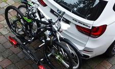 BMW X5 F15 2013 Zubehoer Ausstattung Extras Fahrradtraeger
