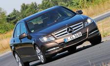 Bilder 2013 Mercedes C 180 Mittelklasse Vergleichstest Dynamik und Komfort