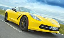 Bilder Chevrolet Corvette Stingray Einzeltest Test Supersportwagen