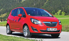 Opel Meriva 1.7 CDTI ecoFLEX Bilder Dauertest Fazit