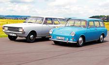 VW 1500 Variant Opel Rekord C 1700 Caravan Vergleich Bilder technische Daten