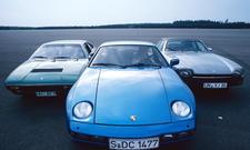 Ferrari Dino 308 GT 4 Porsche 928 Jaguar XJS Oldtimer Sportwagen Vergleich