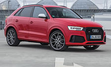 Audi RS Q3 2015 Facelift Test Fahrbericht Sportler SUV Benziner