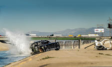 Gymkhana Seven Ken Block Hoonicorn RTR Mustang Drift Action Los Angeles
