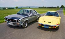 Opel Manta A GT/E  Opel GT Vergleich Bilder technische Daten