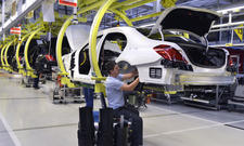 Warnstreiks stoppen Autoproduktion