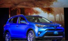 Toyota RAV4 Hybrid New York Auto Show 2015 SUV Neuheiten