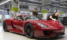 porsche 918 spyder produktionsende plug-in hybrid supersportwagen