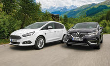 Ford S-MAX Renault Espace Vans Crossover Vergleich