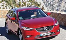 Mazda 6 Kombi SKYACTIV-D 175 Dauertest Mittelklasse Diesel