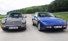porsche 964 carrera 2 944 turbo vergleichstest sportwagen classic cars fahraufnahme