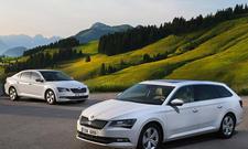 Skoda Superb GreenLine IAA 2015 TDI Spar-Diesel