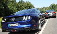 Ford Mustang GT BMW 435i Sport-Coupes Vergleichstest