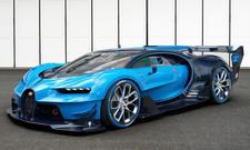 Bugatti Vision Gran Turismo IAA 2015 Sound