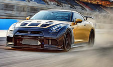 nissan gt-r tuning gold carbon bahrain