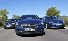 Ford Focus Opel Astra VW Golf