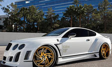 Bentley Continental GT Lexani Wheels
