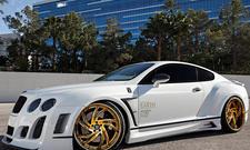 Bentley Continental GT Lexani Wheels