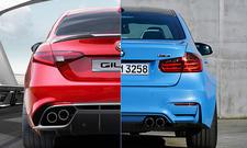 Alfa Romeo Giulia QV und BMW M3