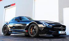 mercedes sls amg black series renntech