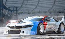 BMW i8 als Procar – Illustration