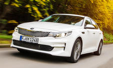 Kia Optima 1.7 CRDi: Test