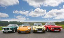 Alfa Romeo/Porsche/Simca/Lancia: Vergleich