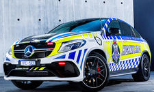 Australische Polizei fährt Mercedes-AMG GLE 63 S Coupé