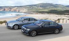 Vergleich: Mercedes E-Klasse (2016) vs. Audi A6