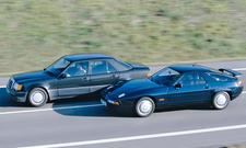 Mercedes 500 E/Porsche 928 S4: Vergleichstest