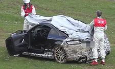 Audi-TT-RS-Prototyp fliegt ab