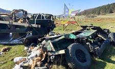 Humvees bei Fallschirmabwurf zerstört